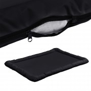 Легло за кучета и котки [en.casa]®, 120 x 85 см, Черен