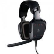 Стерео слушалки с микрофон logitech g35 gaming headset 7.1 - 981-000117