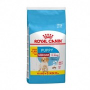 Royal Canin Oferta Royal Canin Medium Puppy 15Kg + 3 Kg Gratis