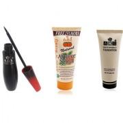 ADSwaterproof eyeliner / scrub (50gm) / white invisible foundation