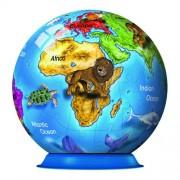 Ravensburger puzzle 3d globul pamantesc, 72 piese