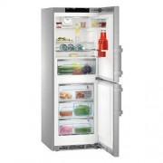 GARANTIE 4 ANI Combina frigorifica Liebherr, clasa A+++-20%, congelator NoFrost, full inox CNPes 3758