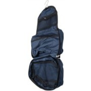 Epyz Womens Ladies toiletry storage bag hanging folding cosmetic organizer large capability pouch Travel Toiletry Kit(Blue)