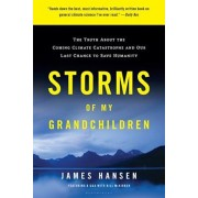 Storms of My Grandchildren: The Truth about the Coming Climate Catastrophe and Our Last Chance to Save Humanity, Paperback