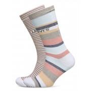 Levi´s Levis Regular Cut Stripe Story 2p Underwear Socks Regular Socks Rosa Levi´s