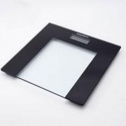 Електронен кантар Safeway RTC3051-B, 150 кг, Стъклен, LCD, Черен