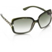 Equal Over-sized Sunglasses(Green)