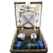 Cos pentru picnic pentru 2 persoane