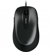 Mouse Microsoft Comfort 4500 cu fir, negru