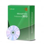 Microsoft Visio 2013 Professional und DVD 1 User / 2 Aktivierungen