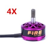 4X DYS Fire 2206 2300KV 3-6S Brushless Motor For 200 210 220 280 RC Drone FPV Racing Multi Rotor