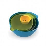 Set de 4 bols avec séparateur d'oeuf Nest Mix Joseph Joseph