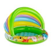 Piscina gonflabila pentru copii cu acoperis pentru protectie solara - Winnie the Pooh 102 x 69 cm