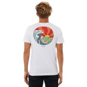 Rip Curl Hazed And Tubed Mens Tee White