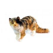 Standing Tabby Cat Plush Soft Toy by Hansa 6966 by Hansa
