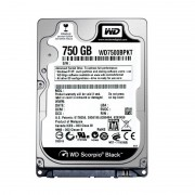 WD Mobile Black 750GB HDD SATA 6Gb/s WD7500BPKX