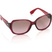 Vogue Over-sized Sunglasses(Brown, Pink)