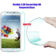 Snaptic 03MM Curved Edge HD Flexible Tempered Glass for Panasonic P55 Novo