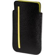 Hama Basic Sleeve voor de Apple iPhone 4/4S - Zwart / Geel