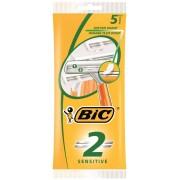 BIC 2 SENS 5-Pack - Rakhyvlar