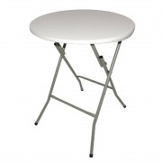 Bolero Round Folding Table 600mm