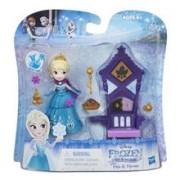 Jucarie Disney Frozen Little Kingdom Elsa And Throne