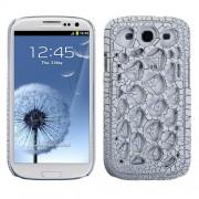 Protector Samsung Galaxy S3 Telaraña Gris Mate