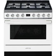 Smeg CPF9GPWH cucina Piano cottura Bianco Gas A+