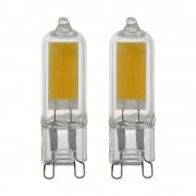 Bec LED G9, 11676, 2W, 200lm, 3000K, set 2 buc