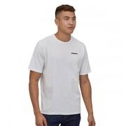 Patagonia P-6 Logo Tee heren shirt - Wit - Size: Large