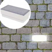 vidaXL 6 db beépíthető LED fény 100 x 200 x 68 mm