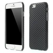 GadgetBay Coque en carbone très solide Coque iPhone 6 6s Noire Coque cool