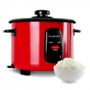 """Klarstein Osaka 1,5, червен, уред за варене на ориз, 500 W, 1,5 литра, функция """"задържане на топлината"""" (TK16-OSAKA-1.5-RED)"""