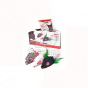 Camon șoarece de pluș pentru pisici 1 buc (AG008/D)