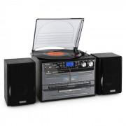Auna TC-386 Stereoanlage USB MP3 Kassette CD Plattenspieler Encoder