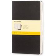 Moleskine Quaderno Cahier Journal large a quadretti nero. Black. ...