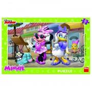 Dino puzzle 15 kom Minnie Mouse