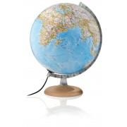 National Geographic 30cm National Geographic Globus Silver Classic politisch/physisch Leuchtglobu...