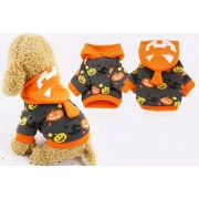 Qingdao Sihaihuifeng Trade LTD t/a YelloGoods £5.99 instead of £19.99 for a Halloween pumpkin pets costume, choose from six sizes from YelloGoods – save 70%