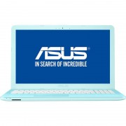 Laptop Asus VivoBook MAX X541NA-GO010, 15.6 HD LED Glare, Intel Celeron Dual Core N3350, RAM 4GB, HDD 500GB, Endless OS, Aqua Blue