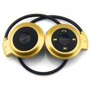 Audífonos Bluetooth Inalámbricos Deportivos, Nuevo Universal Mini 503 Audifonos Bluetooth Manos Libres Auriculares Con Micro Tarjeta De Ranura Para Sony Iphone Samsung (oro)