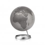 Atmosphere 30cm Design-Globus Atmosphere Vision Silver Globe Erth World Tischglobus Büro