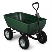 Waldbeck Green Elephant, зеленa, градинскa количка, 125 л, 400 кг, градински самосвал (GDI6-Green-Elephant)