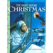 """The Night Before Christmas: Told in Signed English: An Adaptation of the Original Poem """"A Visit from St. Nicholas"""" by Clement C. Moore, Hardcover/Clement C. Moore"""
