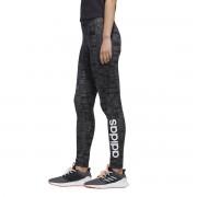 Adidas Performance Leggings de desporto Essentialpreto/cinzento- L