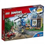 Lego juniors 10751 inseguimento della polizia di montagna