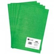dpCraft Filc polyesterový - zelený A4, (DPFC-019)