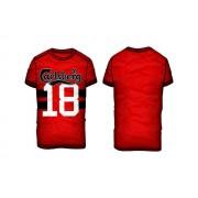 Carlsberg T-shirt Uomo Numero 18 Taglia: M Uomo Colore: Rosso CBU2083 ROSSO