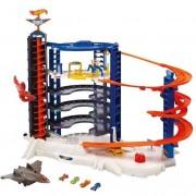 Mattel modellini auto hot wheels fdf25 super mega garage