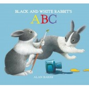 Black and White Rabbit's ABC, Hardcover